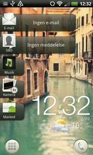 HTC Sense 3.5 on HTC Desire HD