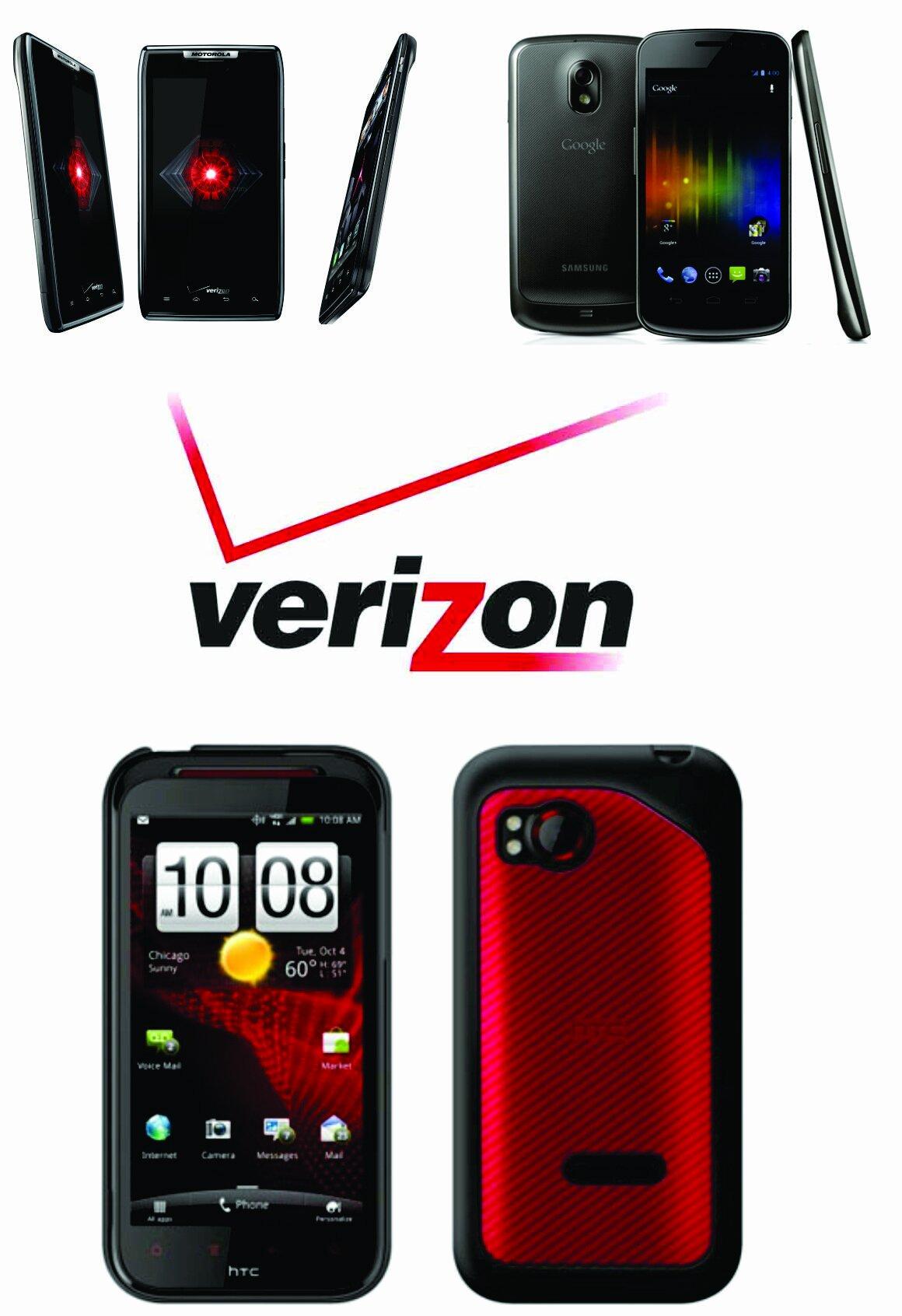 Verizon lineup
