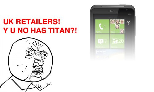 HTC Titan removed