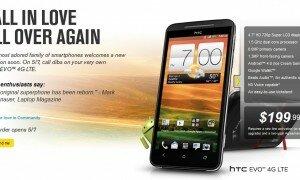 Sprint HTC Evo 4G LTE