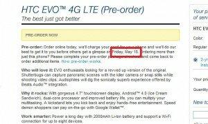 HTC Evo 4G LTE Sprint