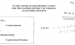 ITC-808 counterclaims EDVA
